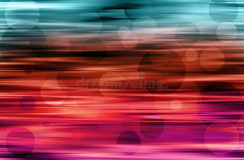 Motion blur dots stock image