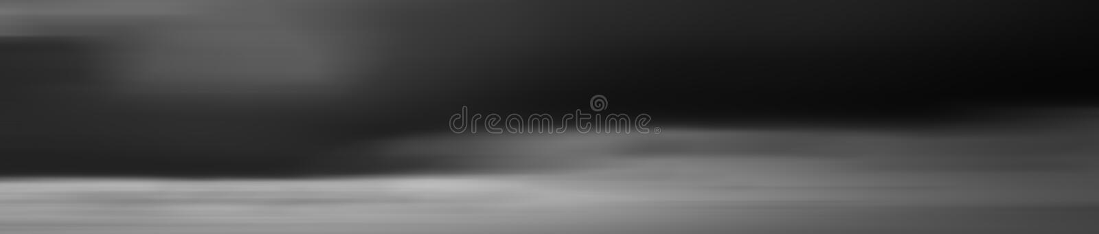 Motion blur effect of sky in black and white for background stock images