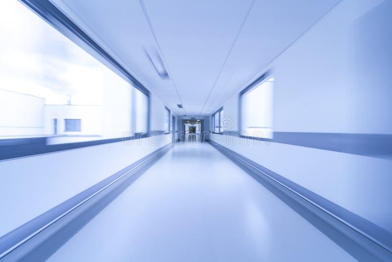Motion Blur Hospital Corridor stock photos