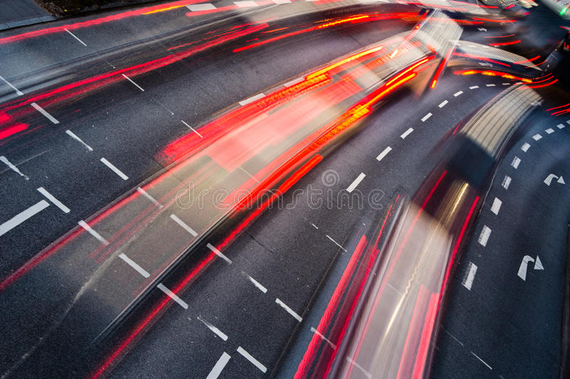Download Motion Blurred City Road Traffic Stock Photo - Image: 29924312