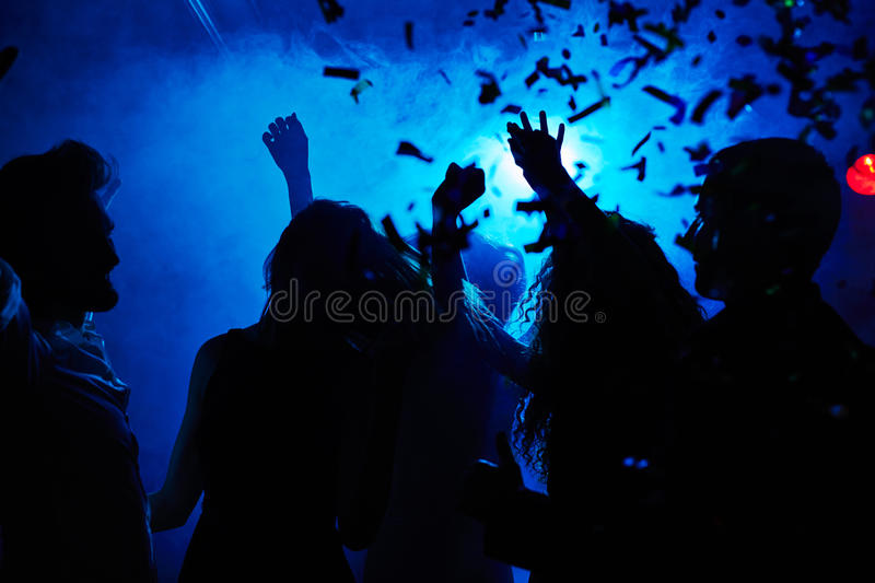 Motion and dance royalty free stock images