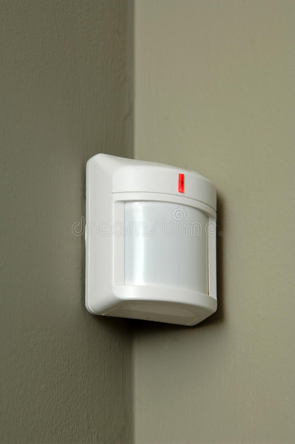 Download Motion detector stock photo. Image of connection, protection - 13129092