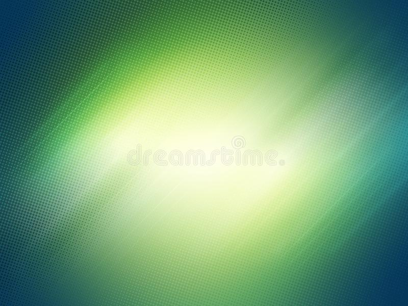 Motion Lights & Halftone Dots Background stock images