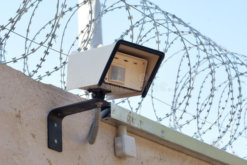Download Motion sensor stock image. Image of electronic, prison - 20403493