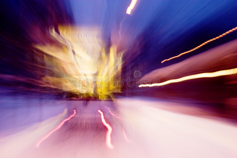 Motion Street Car stock photography