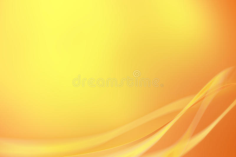 Motion swirls on an orange background royalty free stock images
