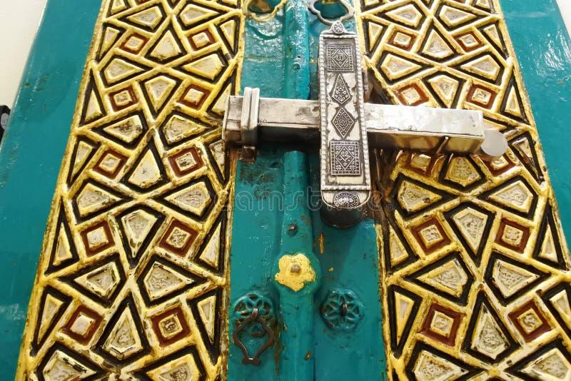 Motiv von der arabischen islamischen Kultur stockbild