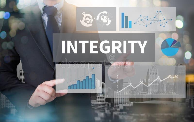 Motivação da moral da lealdade das éticas da INTEGRIDADE imagem de stock