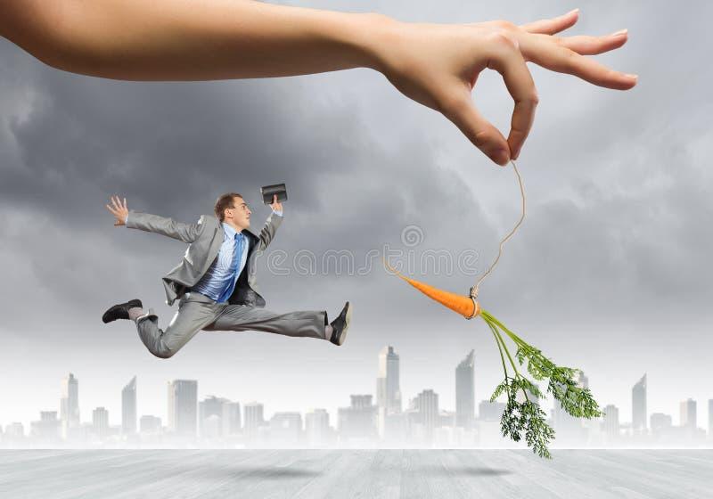 Motivação do negócio fotografia de stock