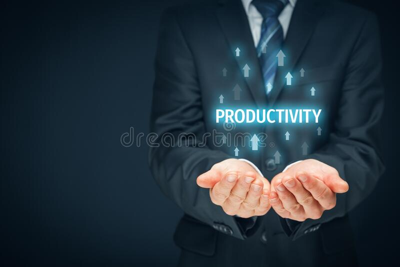 Motivación del entrenador para mejorar la productividad imagen de archivo libre de regalías