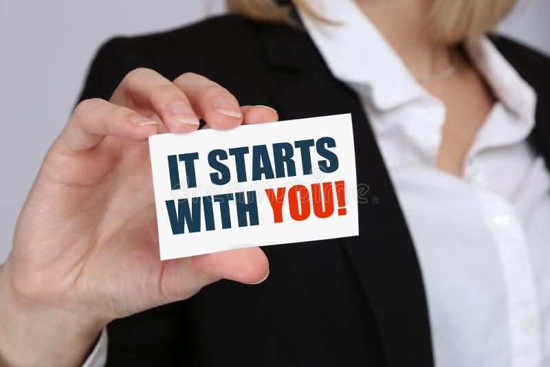 Motivatie beginnend begin het trainen opleidingssucces successf royalty-vrije stock afbeelding