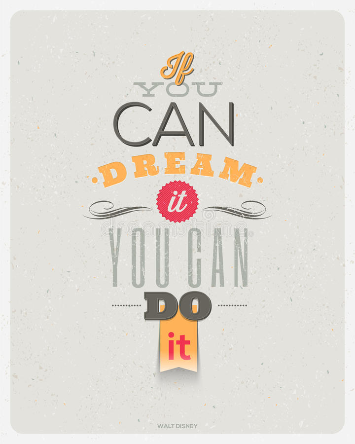 Download Motivating Quotes Design stock vector. Image of quotation - 37134361