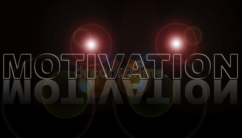 Motivation stock illustration