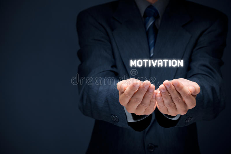 Motivation royaltyfria foton