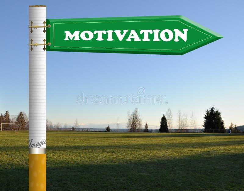 Download Motivation Cigarette Road Sign Stock Illustration - Image: 19290185