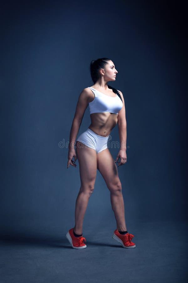 Motivation de forme physique de femmes image libre de droits