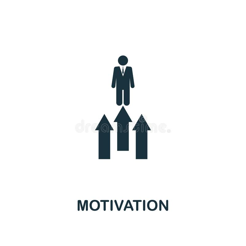 Motivation icon. Premium style design from startup icon collection. UI and UX. Pixel perfect Motivation icon for web design, apps, vector illustration