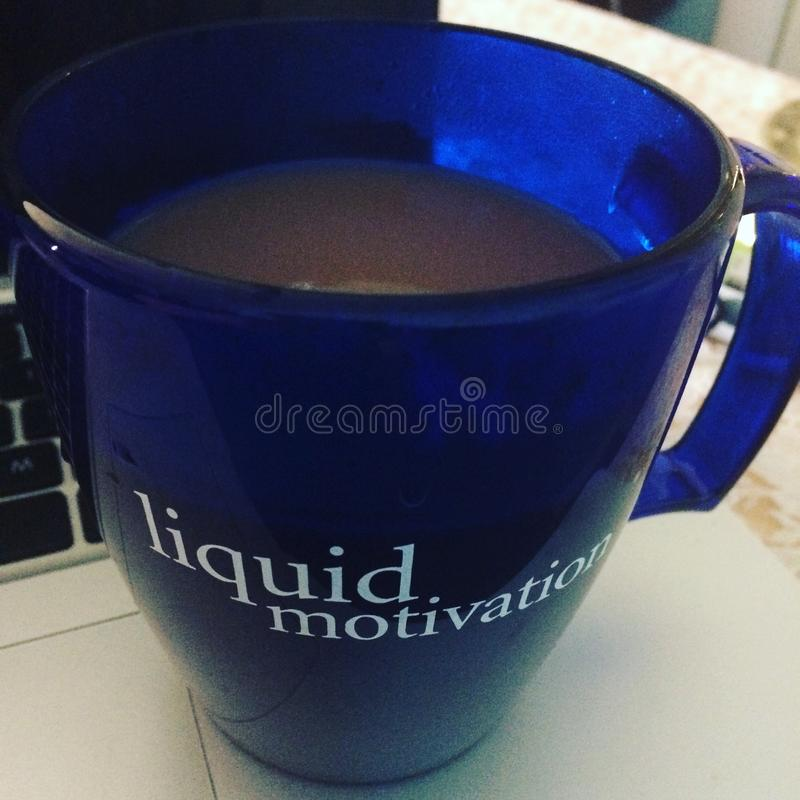 Motivation liquide photos libres de droits