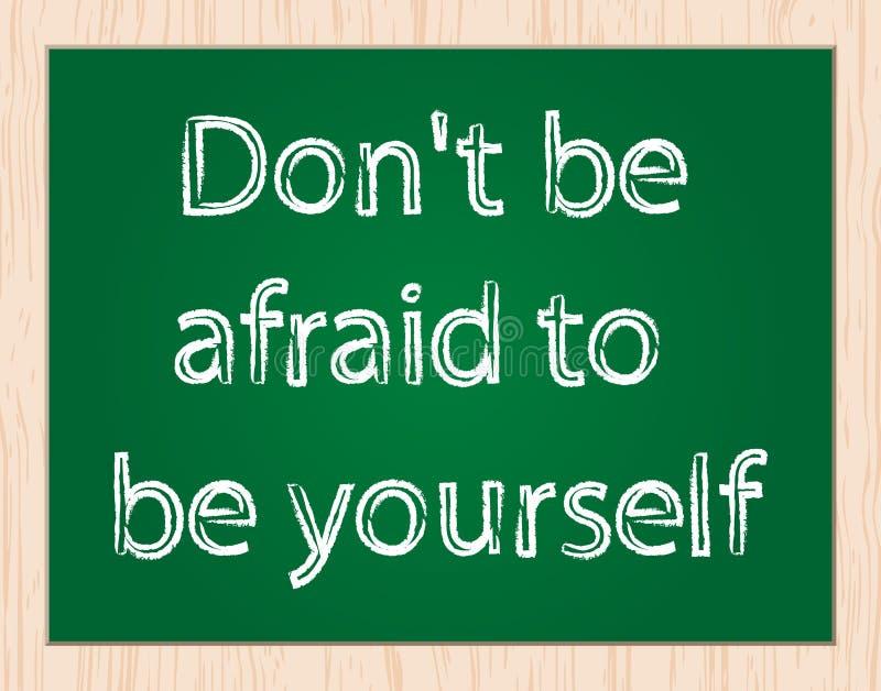 Motivation message stock image