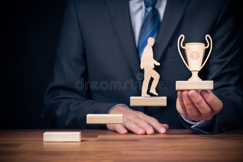 Motivation och personlig utveckling royaltyfri foto