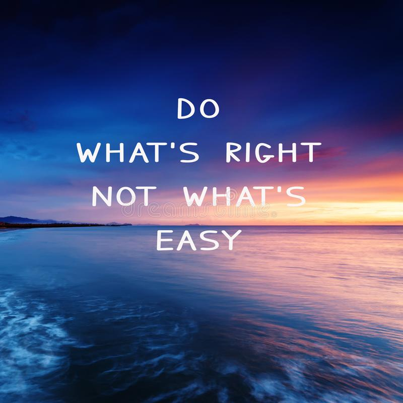 Do What is Right Not What is Easy Life Live Your Dreams Grow Inspirational Motivational Quotes Inspiration Landscape CANVAS ART Pic