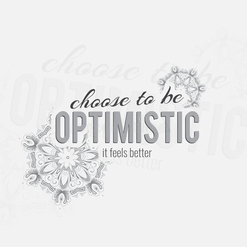 Motivational poster vector illustration