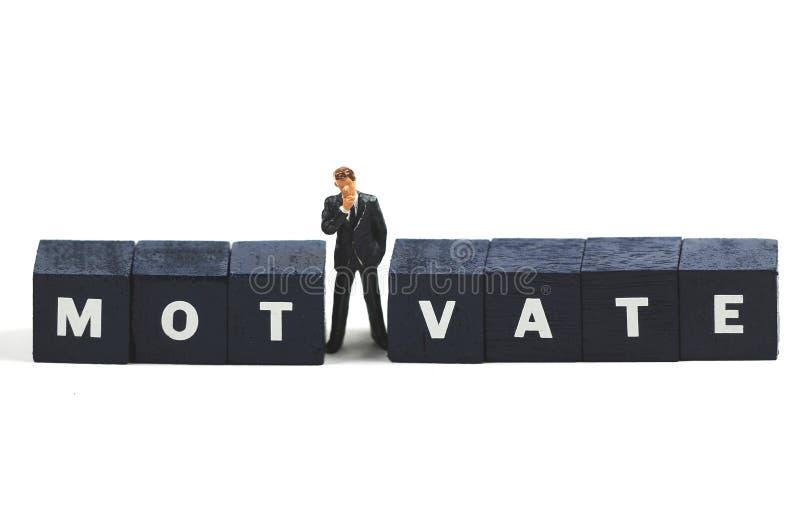 Motiverende manager stock foto