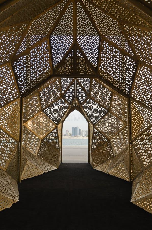 Motivi arabi moderni fotografia stock