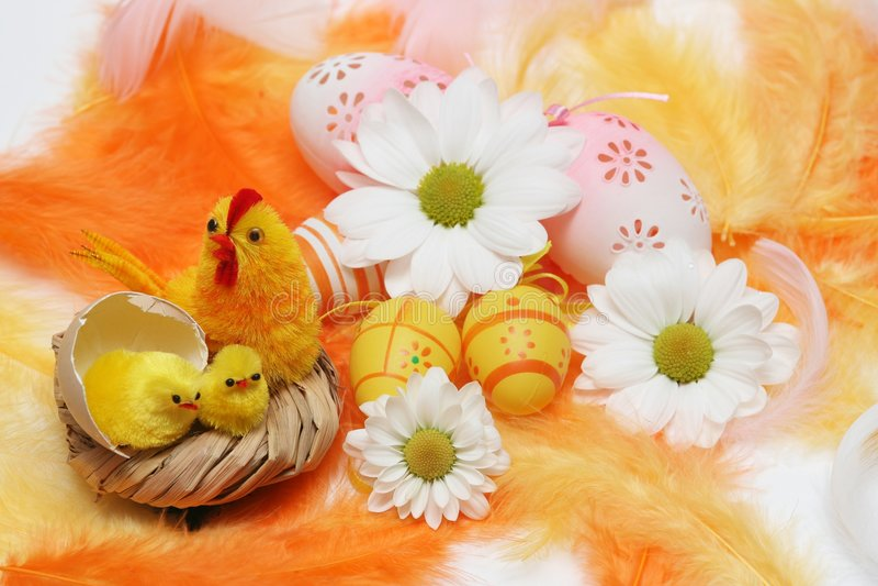 Motivo de Pascua imagenes de archivo
