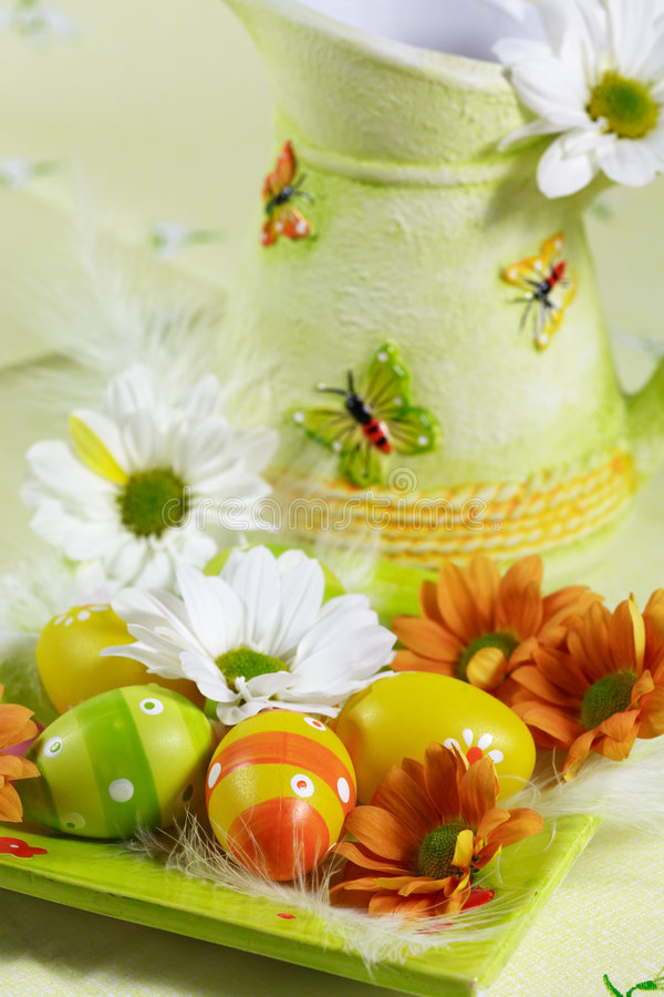 Motivo di Pasqua immagine stock