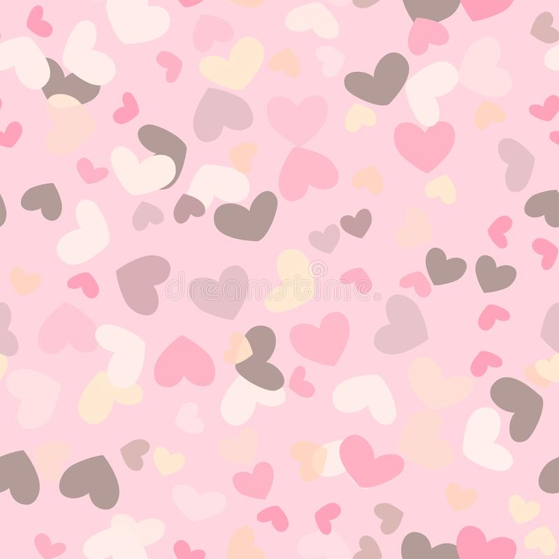 Colorful Iphone Wallpaper Girly: Motley Seamless Girly Background With Colorful Hearts