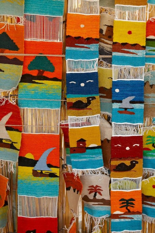 Motley rugs stock photos