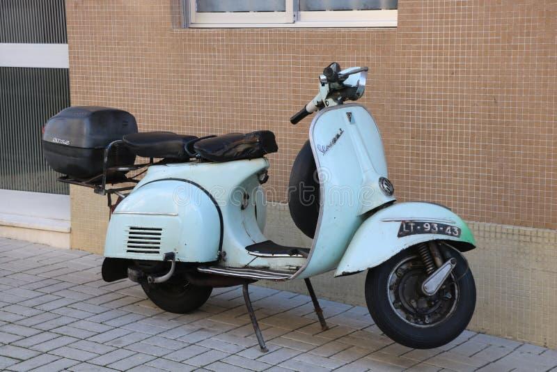 Moto大黄蜂类比雅久在葡萄牙 免版税库存照片
