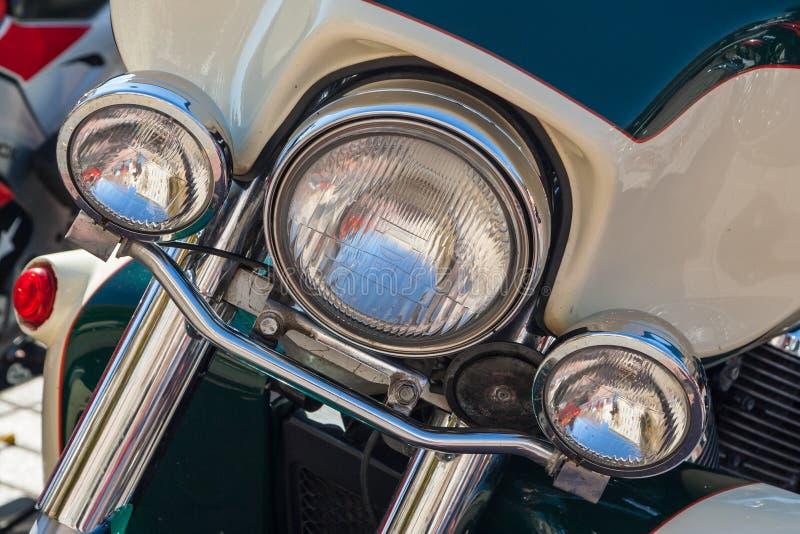 Moto à la fermeture de ressort de la saison de moto photo libre de droits