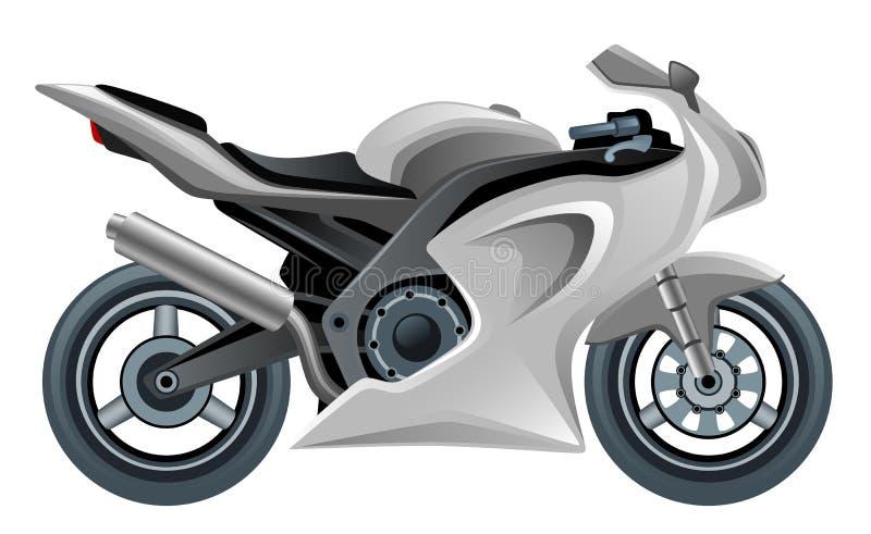 Moto ilustração royalty free