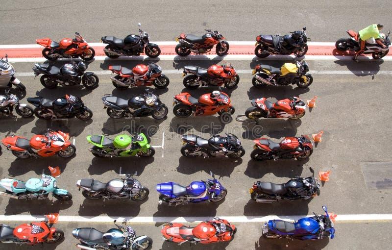 Moto fotografie stock