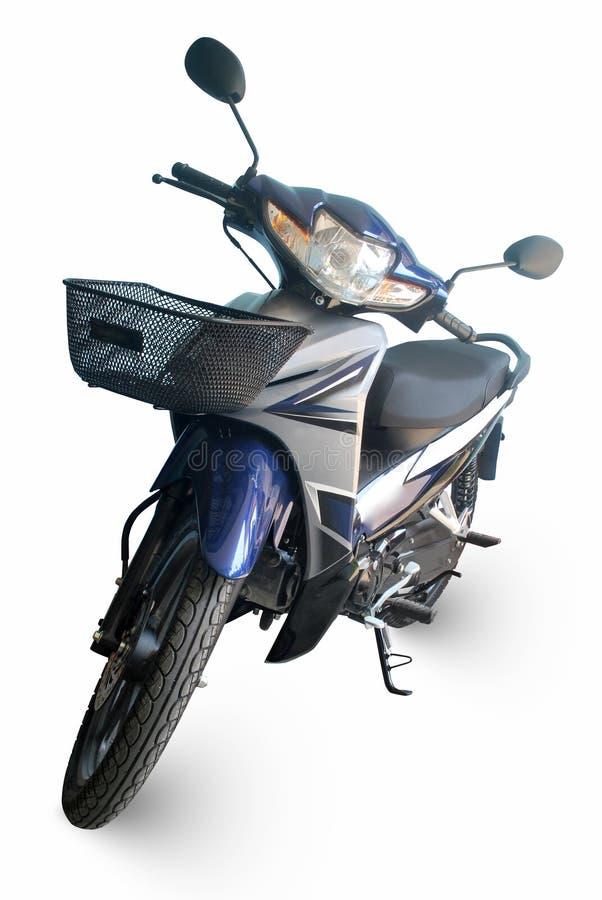 Moto Avec le chemin de coupure photographie stock libre de droits