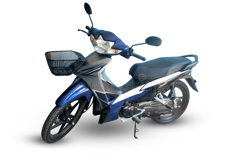 Moto Avec le chemin de coupure photos libres de droits