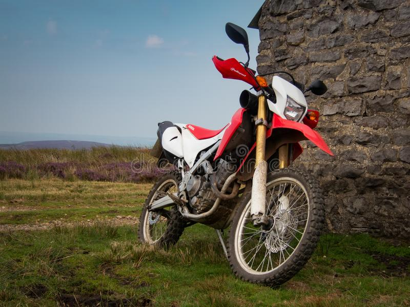 Moto d'aventure de Honda CRF 250L photos stock