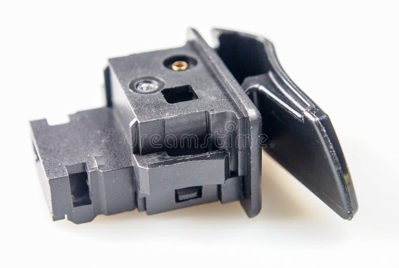 Moto de commutateur d'allumage de moteur photo libre de droits