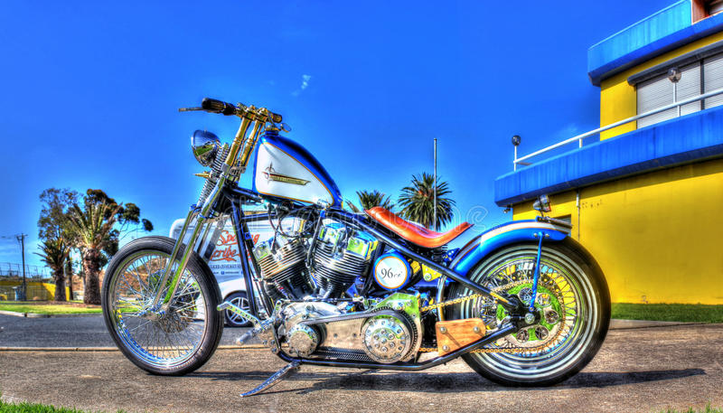 Moto de Harley Davidson photo stock
