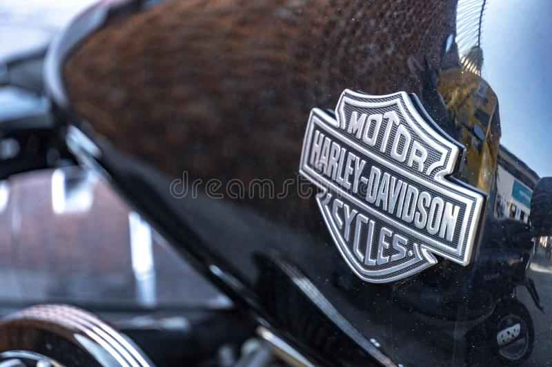 Moto de Harley Davidson photos stock