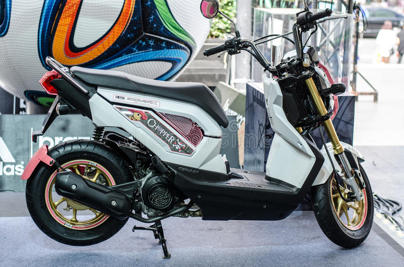 Moto de Honda ZOOMER X photo libre de droits