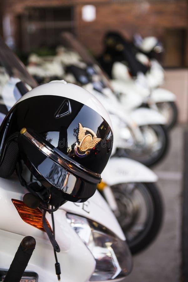 Moto de police photo libre de droits