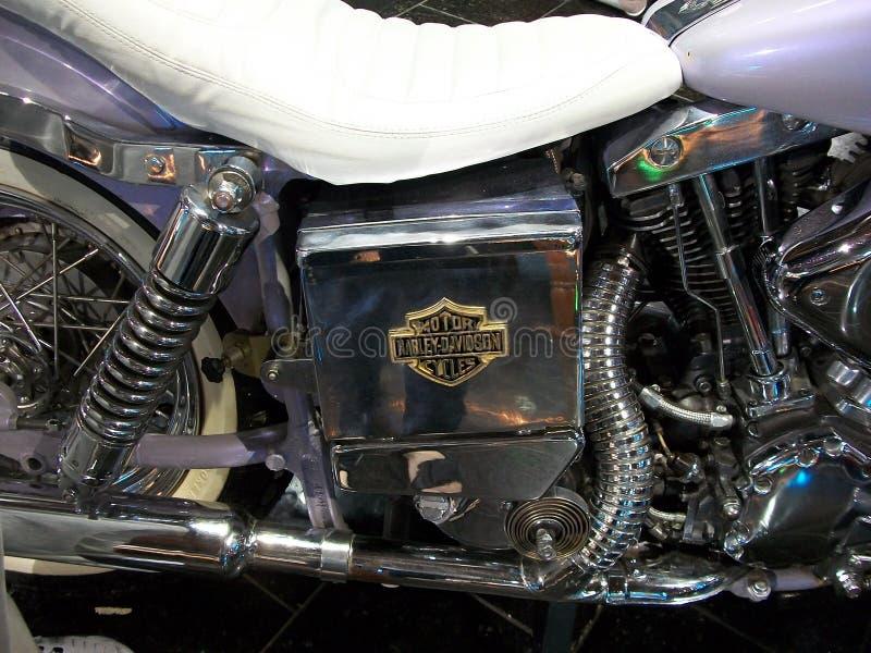 Moto in einem Museum lizenzfreie stockfotos