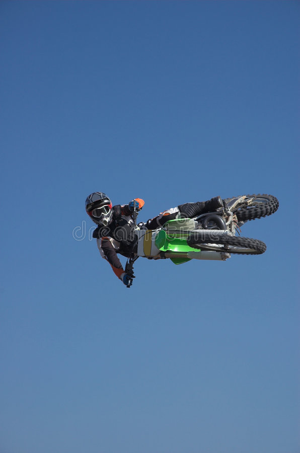 Download Moto X Freestyle 8 stock image. Image of ride, wheel, jump - 1353661