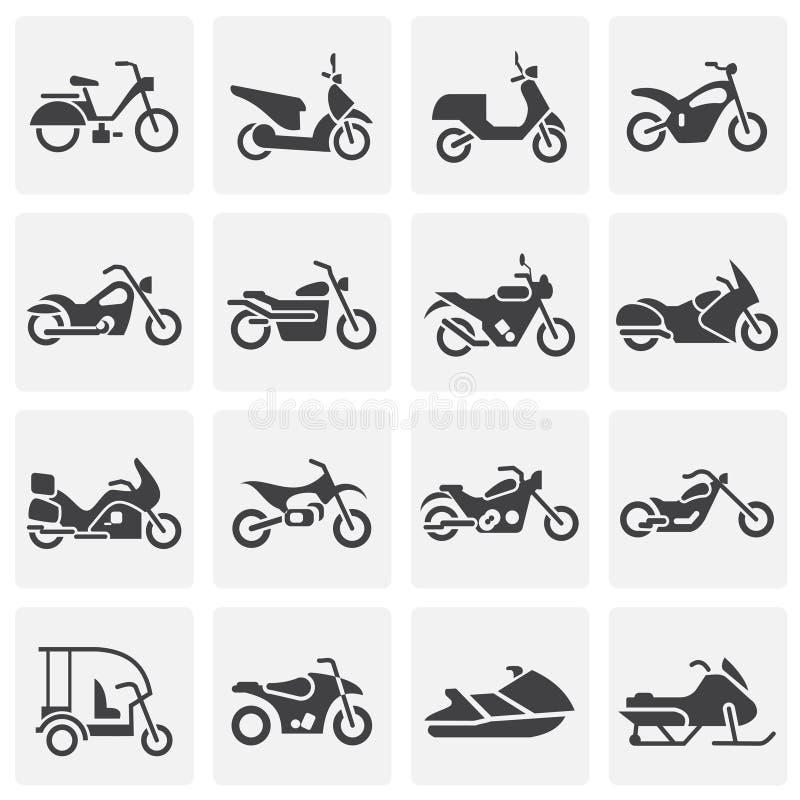 Moto gällde symboler ställde in på bakgrund för diagram och rengöringsdukdesign enkel terminal f?r flygplanillustration Internetb stock illustrationer