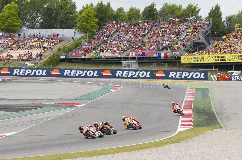 Moto GP Grand Prix stock photography