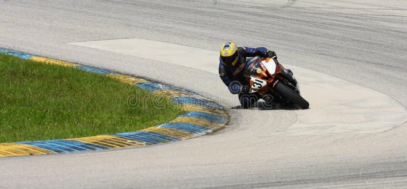 Moto GP Racer royalty free stock photography