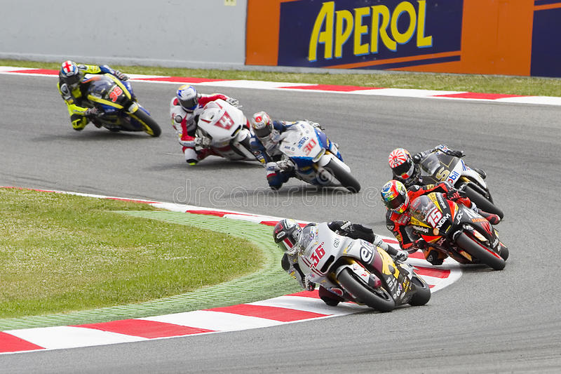 Moto grand prix royaltyfria foton